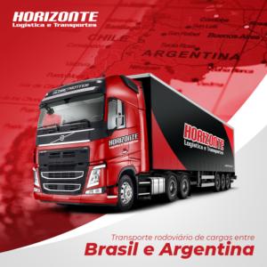 Transporte Rodoviário de Cargas entre Brasil e Argentina